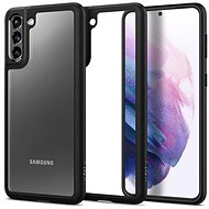 Kryt na mobil Spigen Ultra Hybrid Black Samsung Galaxy S21+ - Kryt na mobil