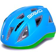 Briko Paint Light blue-green Fluo - Prilba na bicykel