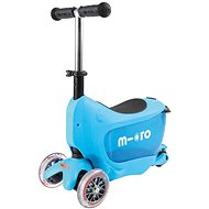 Micro Mini 2go Deluxe modrá - Detská kolobežka