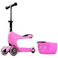 Micro Mini 2go Deluxe ružová - Detská kolobežka