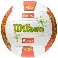 Wilson AVP Hawaii Ora/grn - Beachvolejbalová lopta