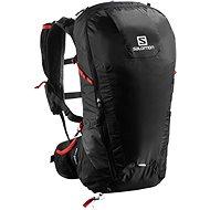 Salomon Peak 30 black/bright red - Športový batoh