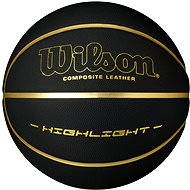 Wilson Highlight 295 Black Gold - Basketbalová lopta