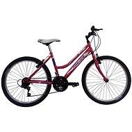 "Frejus 24"" dievčenský ružová - Detský bicykel 24"""