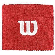 Wilson W Wristband Red - Potítko