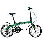 """Agogs Foldy zelená - Skladací bicykel 16"""""""