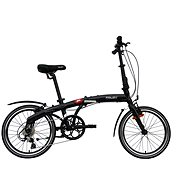 "Agogs Foldy black velvet - Skladací bicykel 16"""