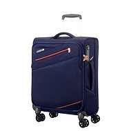 American Tourister Pikes Peak Spinner 55 Carbon Blue - Cestovný kufor s TSA zámkom