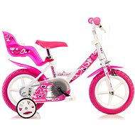 Dino Bikes 12 pink - Detský bicykel