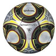 Wilson Sportivo II Sb Silver black yellow Size 5 - Futbalová lopta