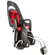 Hamax Caress tmavo sivá/červená - Detská sedačka na bicykel