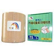 Temtex tape Classic béžový 7,5 cm - Tejp