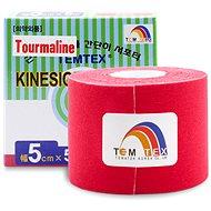 Temtex tape Tourmaline červený 5 cm - Tejp