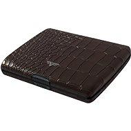 Tru Virtu Papers & Cards Ray leather – Croco Brown - Peňaženka