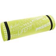 Lifefit Yoga mat exclusiv plus zelená - Podložka na cvičenie