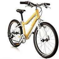 "Woom 4 yellow - Detský bicykel 20"""