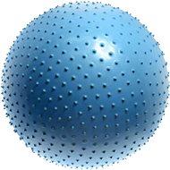Lifefit – Masážna gymnastická lopta modrá - Gymnastická lopta