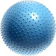 Lifefit - Masážna gymnastická lopta modrá 75 cm - Gymnastická lopta