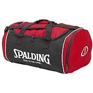 Spalding Tube Sport bag 50 l velkosť M červeno/čierno/biela - Taška cez rameno