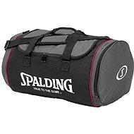 Spalding Tube Sport bag 50 l veľkosť M čierno/ružová - Taška cez rameno