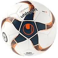 Uhlsport Medusa Nereo - white/petrol/black/fluo red - veľ. 4 - Futsalová lopta