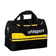 Uhlsport Basic Line 2.0 Players Bag – black/corn yellow 75 L - Športová taška