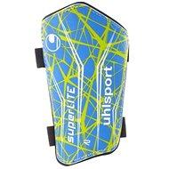 Uhlsport Super Lite – blue/green/white - Futbalové chrániče