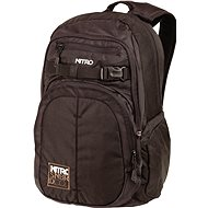 Nitro Chase Fragment Black - Mestský batoh