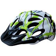 Cyklo helma TRULY FREEDOM veľ. L white print