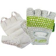 Lifefit Fit biela/zelená veľkosť S - Rukavice