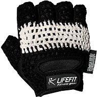 Lifefit Fit čierne/biele veľkosť L - Rukavice