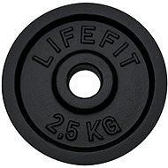 Kotúč Lifefit 2,5 kg/tyč 30 mm - Závažie na činky