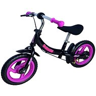 "Sulov Signora 12"", Black-Violet - Balance Bike"