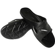 Umbro One Shot Slide black veľkosť 7 - Papuče