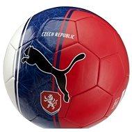 Puma Czech Republic Country Fan Balls Licensed white/blue/red mini - Futbalová lopta