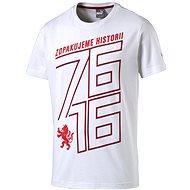 Puma Czech republic 76 Fan Shirt white chili M - Tričko