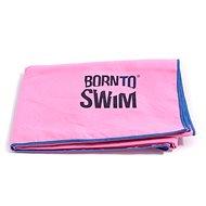 Born To Swim z mikrovlákna ružový - Uterák