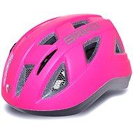 Briko Paint pink-silver - Prilba na bicykel