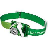 Ledlenser SEO 3 green - Čelovka
