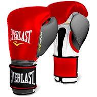 Everlast Powerlock červenosivé - Boxerské rukavice