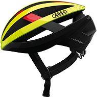 ABUS Viantor neon yellow M - Prilba na bicykel