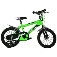 Dino bikes 16 green R88 (2017) - Children's bike 16""