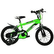 Dino bikes 14 green R88 - Detský bicykel