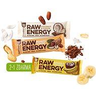 BOMBUS Raw energy Akcia 2+1 - Raw tyčinka