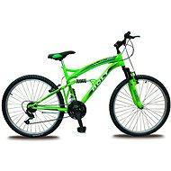 """Bolt 26"""" fosforovo zelený - Detský bicykel 26"""""""