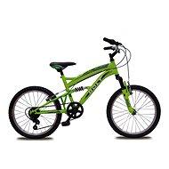 """Bolt 20"""" fosforovo-zelená - Detský bicykel 20"""""""