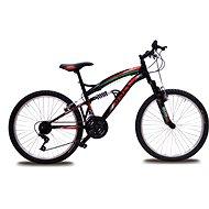 """Bolt 24"""" čierna/červená zelená - Detský bicykel 24"""""""