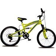"Bolt 20"" fosforovo-žltá - Detský bicykel 20"""