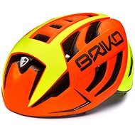 Briko Ventus oranžová - Prilba na bicykel