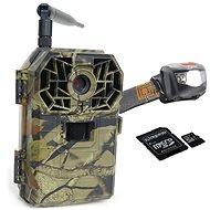 Bunaty Full HD GSM + kovový ochranný box + 16 GB SD karta + batérie + SIM karta + čelovka HL125 - Fotopasca